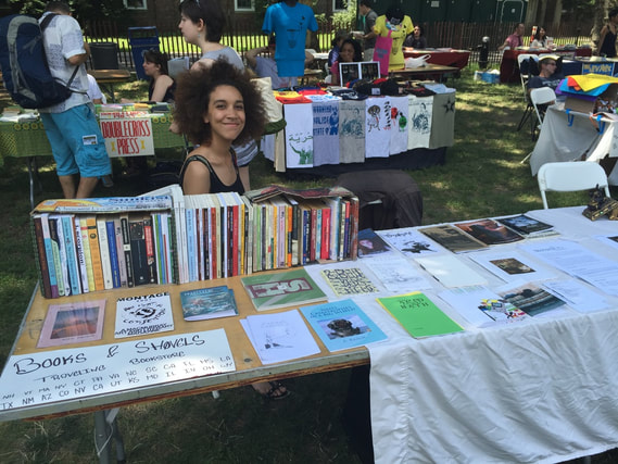 books and shovels 2015 NYC Poetry Fest